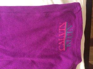 Lila T-Shirt von Calvin Klein