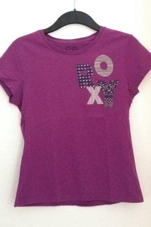 Lila T-Shirt von Roxy