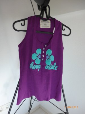 Aeropostale Strappy Top purple-turquoise cotton