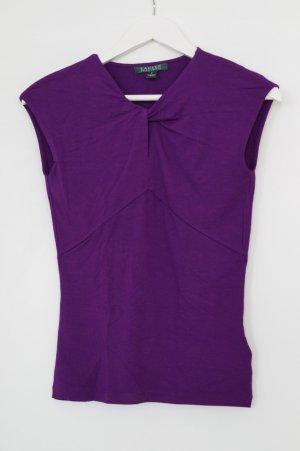 Lila Top von Ralph Lauren in Gr. S