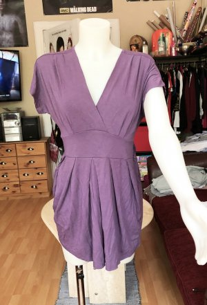 Clockhouse Babydoll-jurk paars-lila