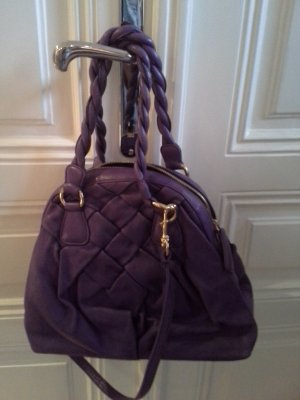 C. Valentino Carry Bag lilac leather