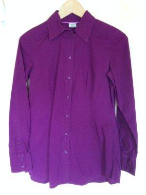 Lila Violette Long Bluse Gr. 34 Esprit