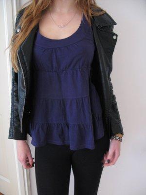 Lila Volant top Zara