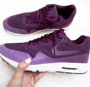 lila weiße Nike Air Max Moire größe 41