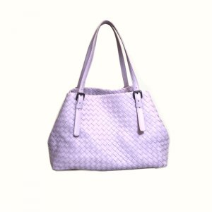 Lilac Bottega Veneta Shoulder Bag