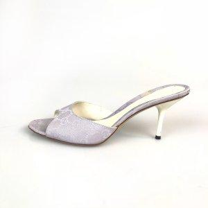 Lilac Gucci Flip Flop