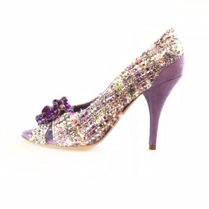 Lilac Moschino High Heel