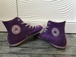 Lilafarbene Chucks/ Sneakers Größe 40