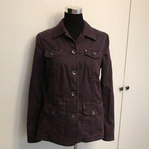 Lilafarbene Jeansjacke von Bonita