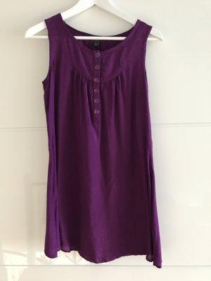 Lilafarbene Longbluse / Kleid
