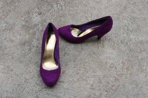 Lilafarbene Pumps H&M Damen Größe 37 Partyschuhe Business Büro Absatz Schuhe