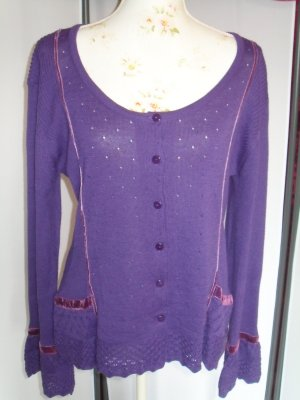 Changes by Together Blouse Jacket lilac cotton
