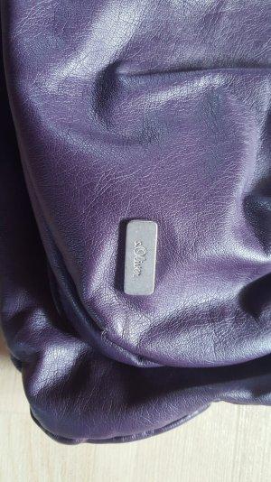 lilafarbene Tasche von s.Oliver