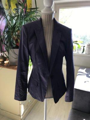Hugo Boss Blazer stile Boyfriend viola-grigio