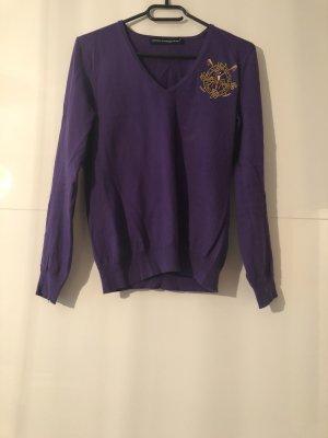 Lilafarbener Pullover von Ralph Lauren Sport Gr. M