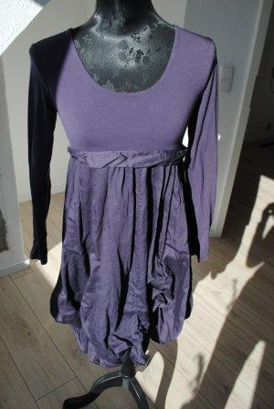 Made in Italy Balloon Dress dark violet