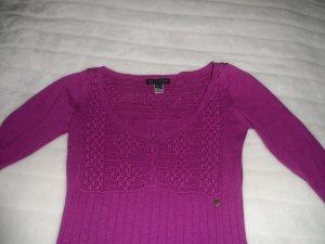 Lilafarbenes Kurzkleid oder Tunika