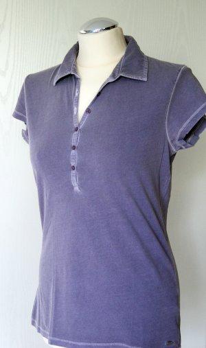 Lilafarbenes Polo-Shirt von Marc O'Polo