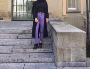 Reserved Boyfriend Trousers lilac