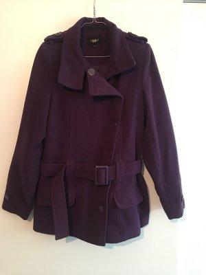Manteau court violet