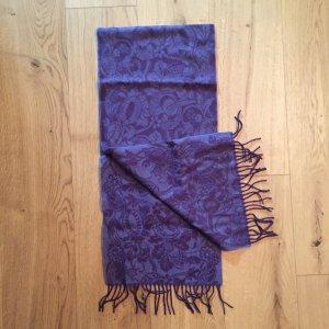 Lilaner Schal aus Wolle (Schurwolle)