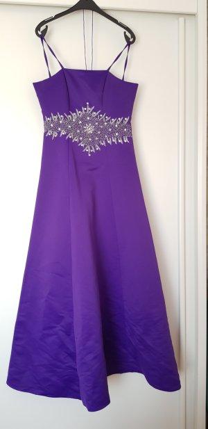 Vestido de noche lila