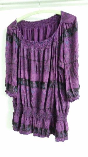 Camisa larga lila
