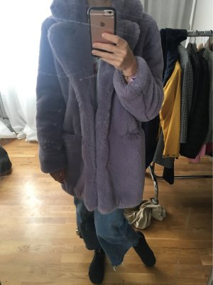 Shake Fake Fur Coat multicolored fake fur