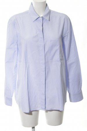 Lilienfels Hemd-Bluse blau-weiß Streifenmuster Business-Look
