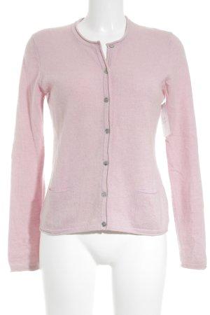 Lilienfels Strickjacke rosa klassischer Stil