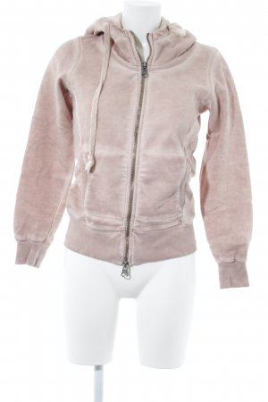 Lilienfels Giacca fitness rosa antico stile atletico