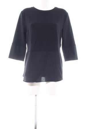 Lilienfels Sweatshirt blau Business-Look