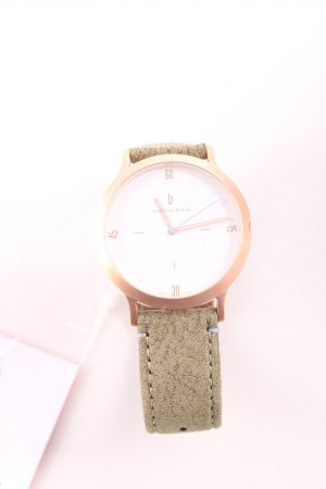 Lilienthal Berlin Uhr mit Lederarmband mehrfarbig Casual-Look
