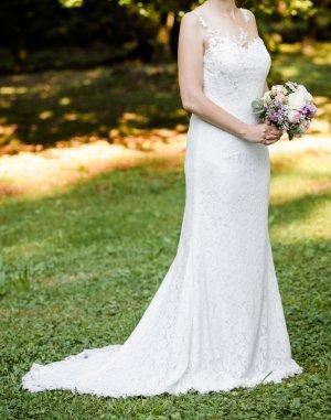 Lilly Robe de mariée blanc-blanc cassé