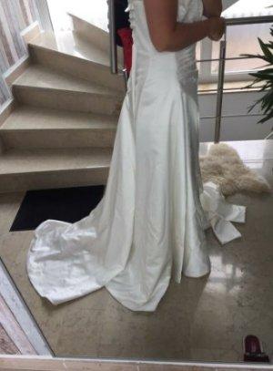 Lilly Robe de mariée beige clair-blanc cassé