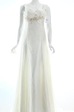 Lilly Brautkleid weiß-wollweiß Eleganz-Look
