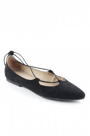 Lilo Fee Mary Jane Ballerinas schwarz College-Look