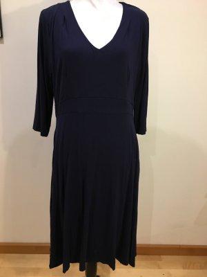 Lily & Me Kleid dunkelblau, V-Ausschnitt, Gr. 46, NEU und ungetragen