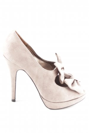 Limelight Peep Toe Pumps natural white casual look