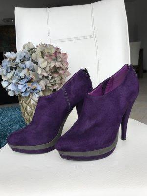 Limelight Stiefeletten Gr.39 Violett/Grau
