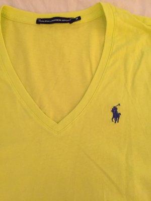 Limetten gelbes Ralph Lauren Sport Tshirt