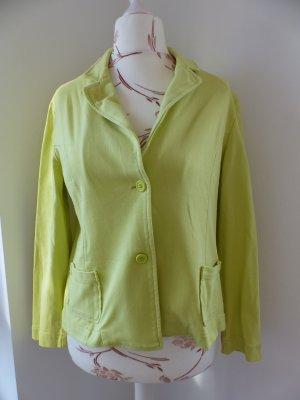 Limettengelber Baumwoll Jacke/ Blazer von Woman by Tchibo