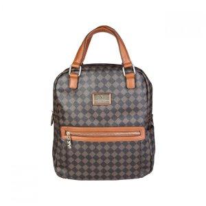 Versace Backpack Trolley bronze-colored-black nylon