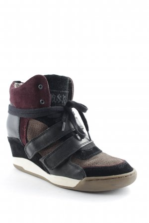limited a by a.s.h Wedge Sneaker mehrfarbig Materialmix-Look