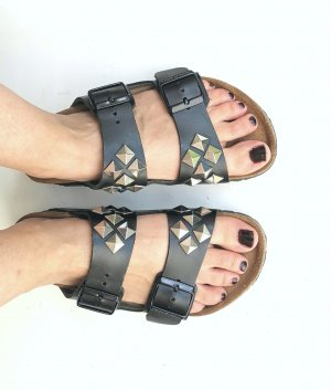 Limited Edition Birkenstock Arizona Studded 38 normal black