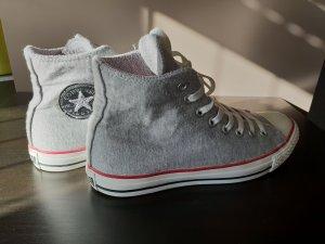 Converse Zapatillas altas blanco-gris claro