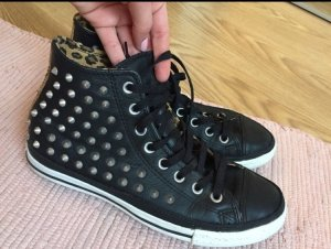 Limited Edition Converse Chucks 42 Leopard Leder
