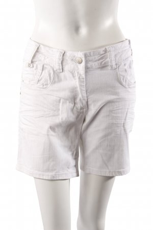 Limited Edition Jeansshorts weiß