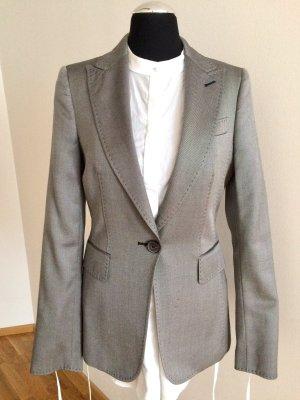 Limited Edition, silbergrauer Blazer von Zara